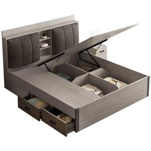 Hot Saling Simple Design Modern Wooden Bed