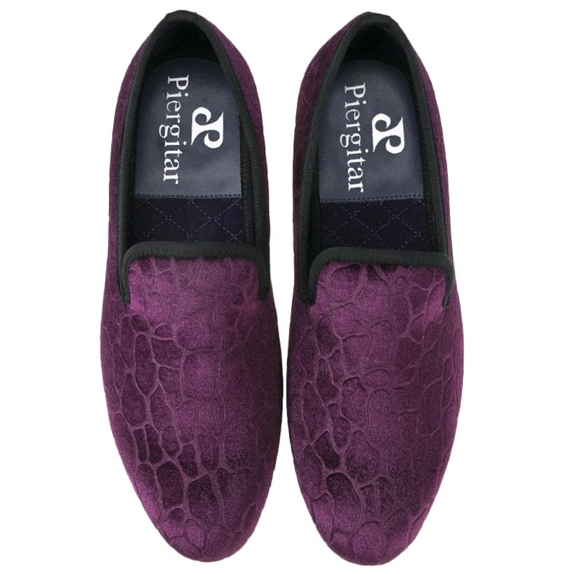 Shoes Dress Burgundy Velvet Wedding Men Wholesaler Aqz1I