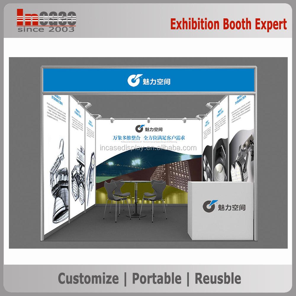 Exhibition Shell Quotes : M standar pameran berdiri shell skema booth