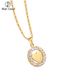 Wholesale 24K Custom Jewellery Pendant Fashion Jewelry Gold Necklace Models