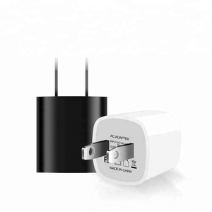 Electric Type Free Sample US 5V 1A Mini Cube 1 Port Single Usb Wall Mobile Phone Charger For i8 Android