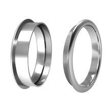Floya внутренние кольца 1 мм 2 мм 4 мм ширина База аксессуары из нержавеющей стали материал Сменные заполненные кольца для женщин Персонализиро...(Китай)