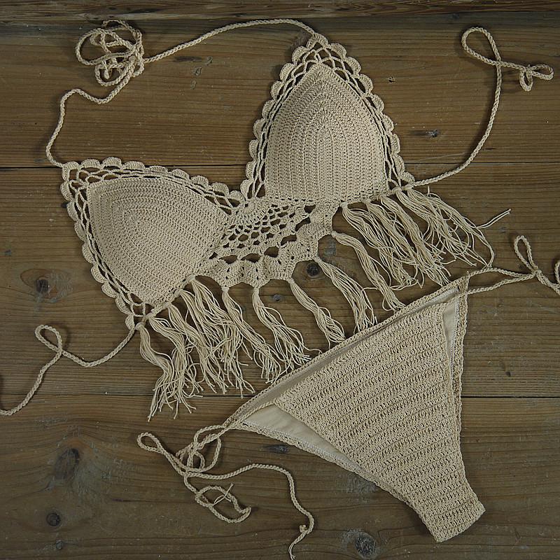 380e363a5b5e Venta al por mayor bikinis de ganchillo para niñas-Compre online los ...