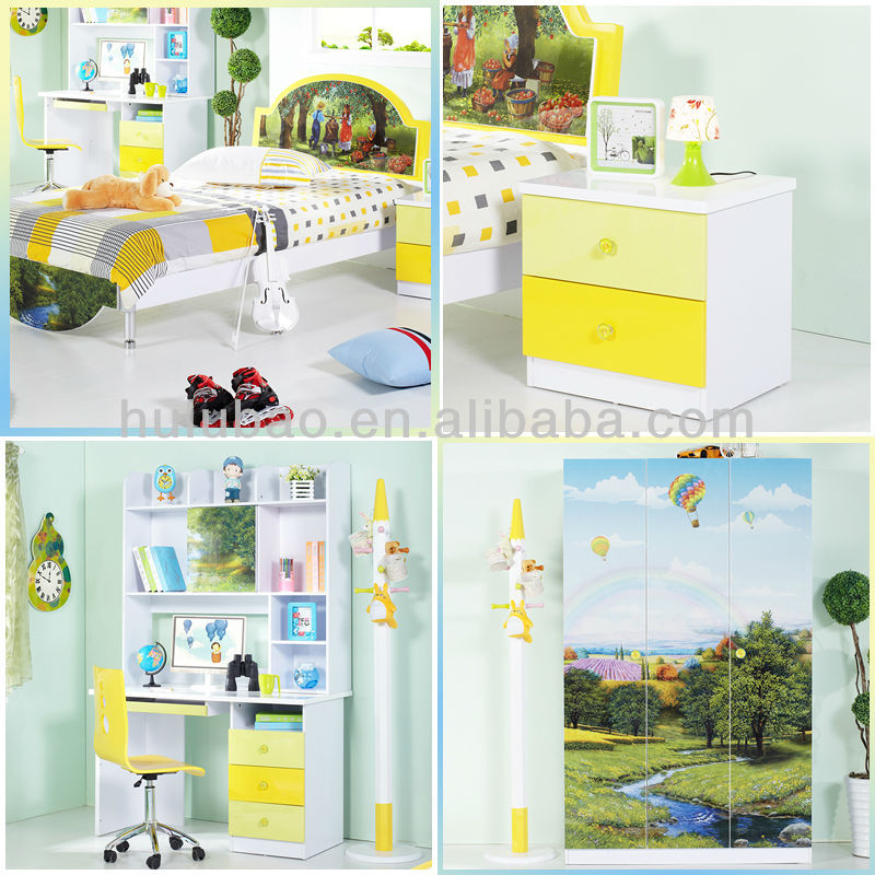 Discount Childrens Bedroom Furniture: Discount Kids Furniture/childrens Bedroom Wardrobe/bed