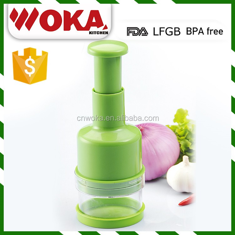 kitchen tool best sales onion chopper hand food chopper green onion chopper