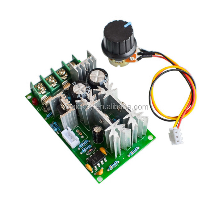 Dedicated Dc6v-90v 15a Pulse Width Pwm Dc Motor Speed Controller Switch Dc Motor