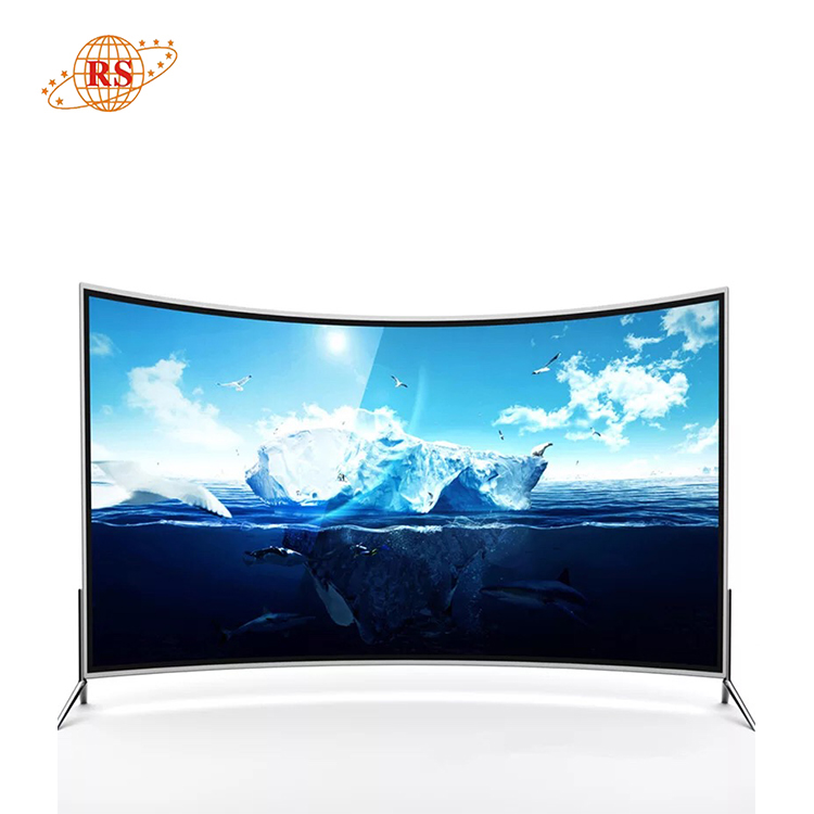 85 inch LED LCD Television Smart Curved Screen TV 4K China Factory