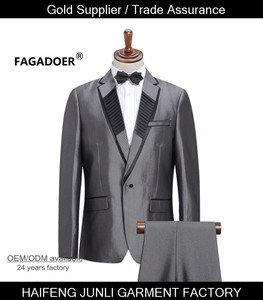 men suit set jacket pant fashion Firs slim suit male married slim formal clothes male worker office cloth more color style