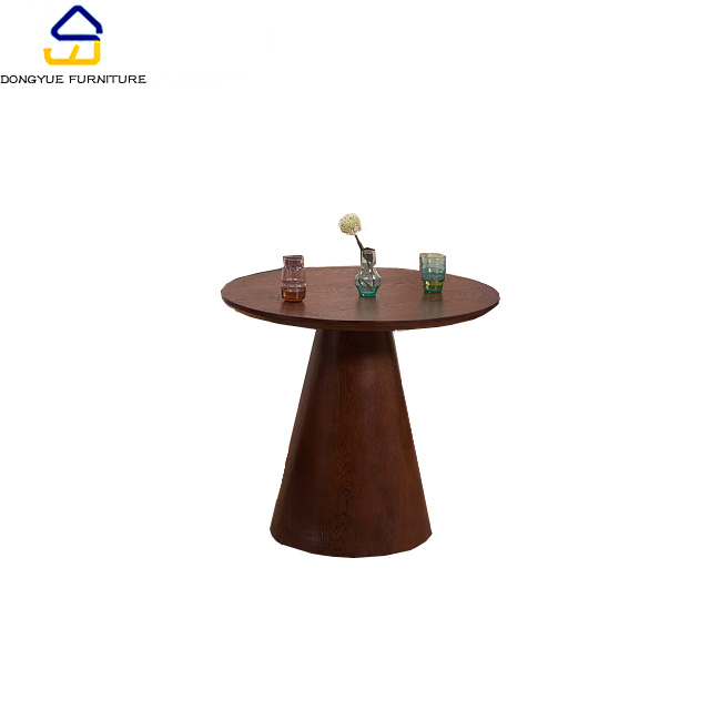 commercial bar furniture dark colored small modern round coffee table