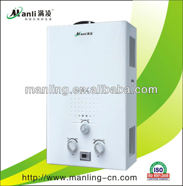 Gas burner for gas water heater