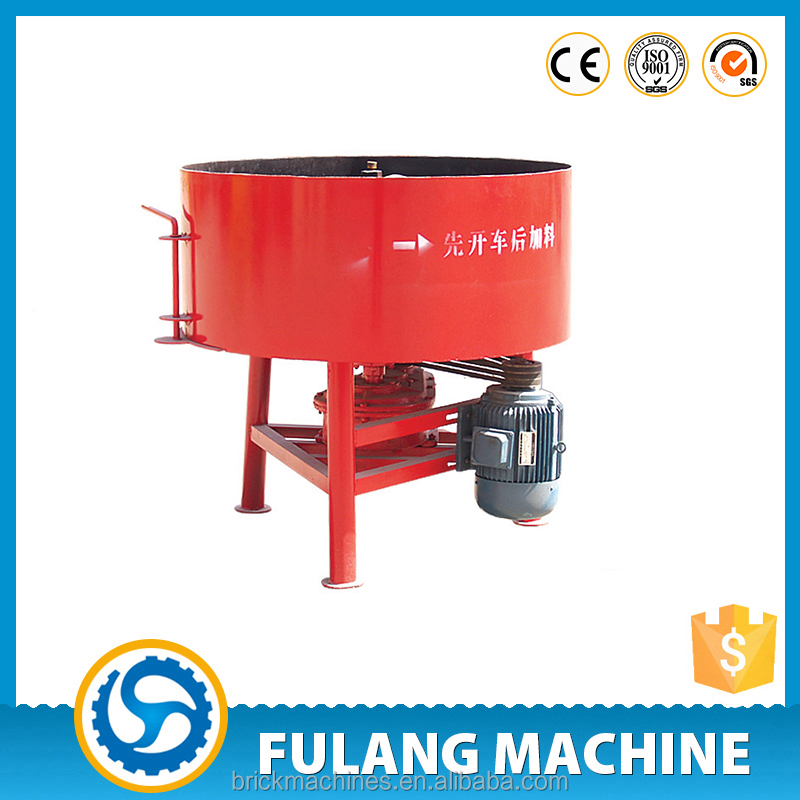 JQ350 Easy operate cheap price concrere pan mixer cement mixer in Bangladesh