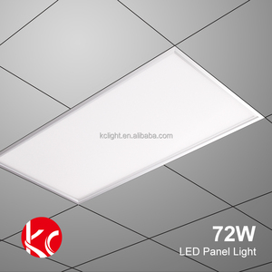 High Lumen 72W 600*1200mm Slim Flat Ultrathin Recessed Aluminum Led SMD Panel Light Certified Listed