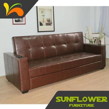 Adjule Folding Furniture Latest Sofa Design Factory Direct Price Leather Bed