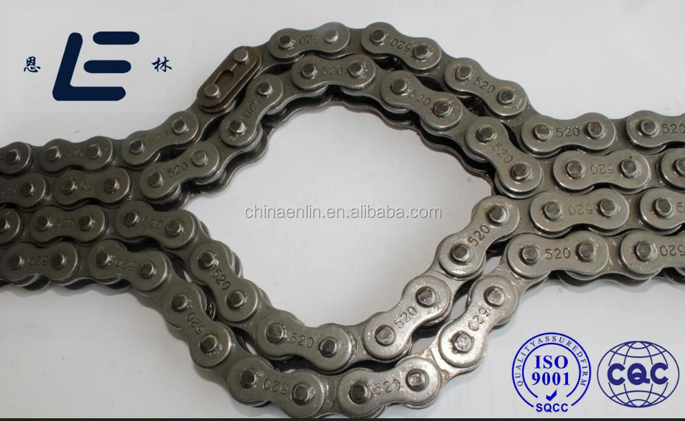 Customizable Industrial Roller Chain Sprockets / 520 Self Black Stainless Steel Carbon Steel Roller Chain