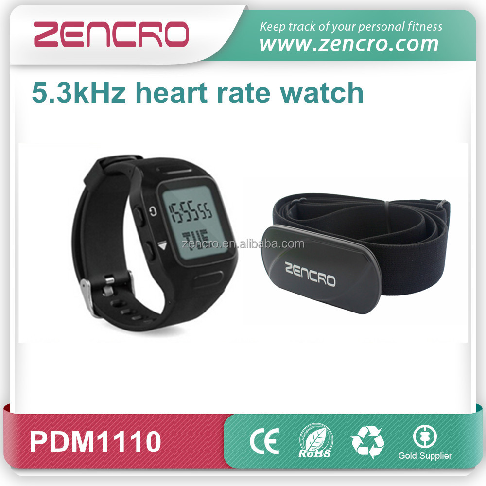 2016 fashion product sports fitness exercise calorie heart rate monitor timer watch with chest belt