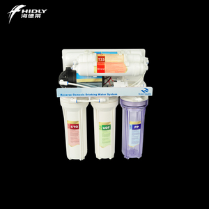 5 Stage 6 Stage 7 Stage RO 50G UV Lamp Water Plastic Auto Flush System  Healthy RO Water Purifier