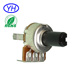 Best quality Insulation shaft single gang 3 pin 12MM rotary potentiometer