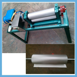 170*350mm beeswax foundation stamper machine/beeswax mill machine