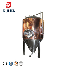 fermenting equipment of 1000L Red Copper distiller boiler with steam heating