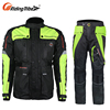 Motorcycle Clothes Racing Protector Leather Riding Jacket With Armor