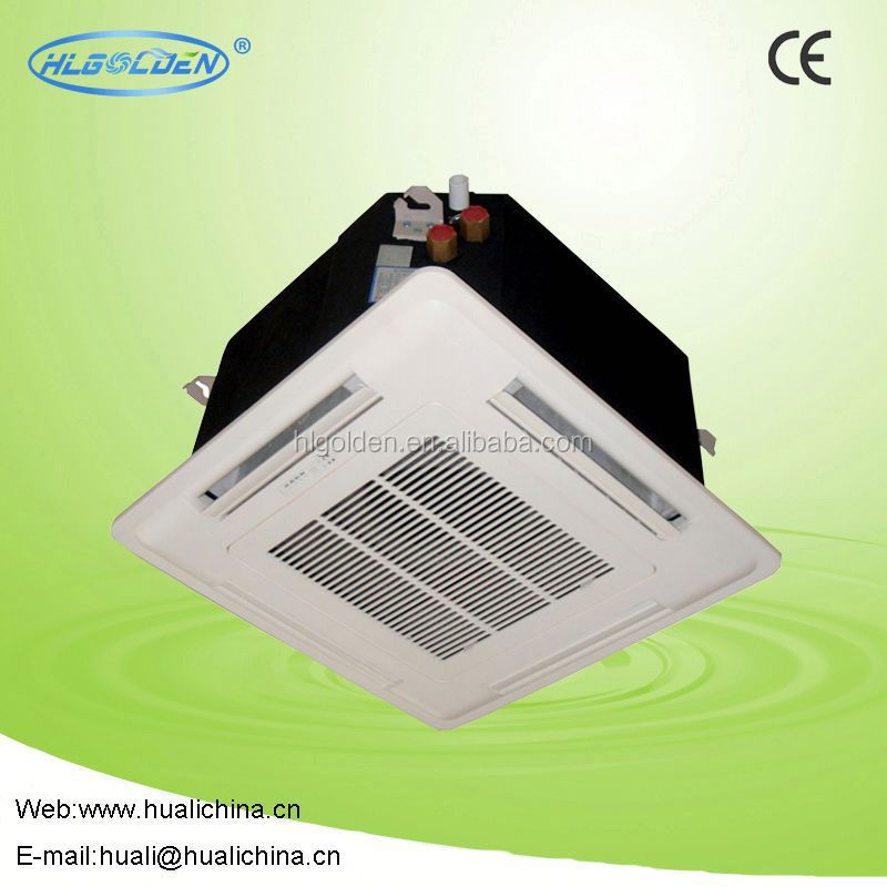 AC Cassette type fan coil heating and cooling