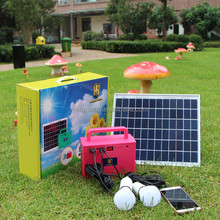 portable 10w solar power system solar kits for africa