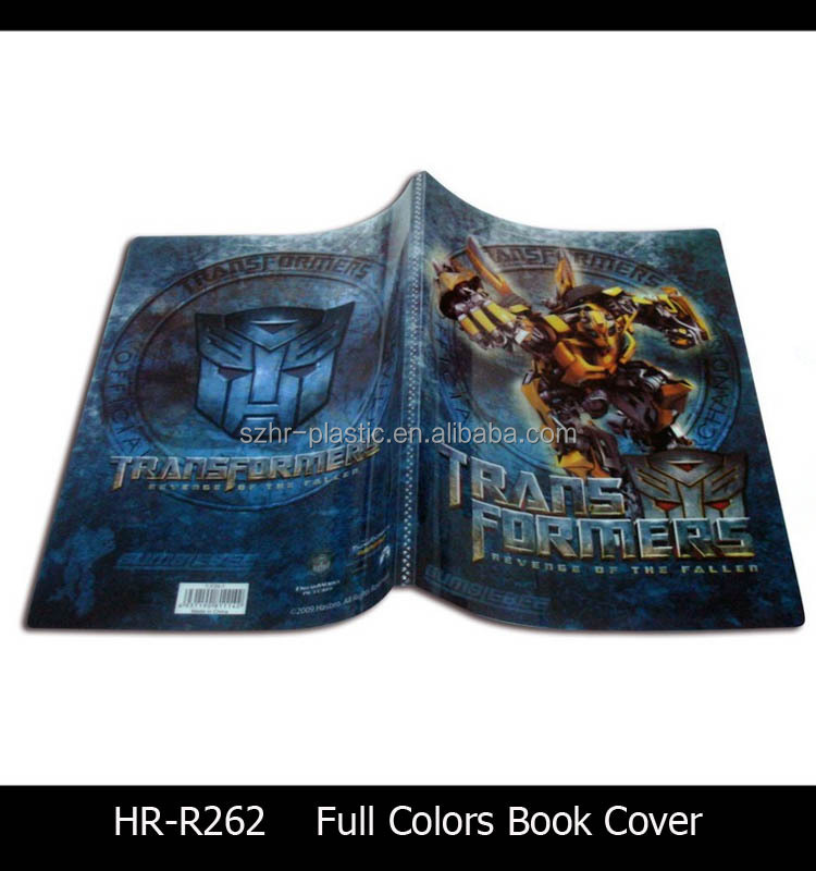 China Supplier Clear Plastic Book Cover With Zipper Slider Pocket ...