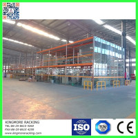 Warehouse steel racking manufacturer produce the best quality American pallet Rack