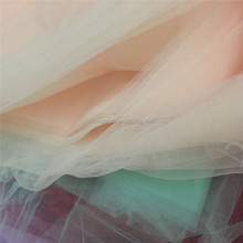 Bride tulle embroidery lace fabric with white color
