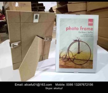 Wholesale Frameless Glass Clip Frame 4x4 4x6 6x6 5x7 6x8 8x10 A4 A3