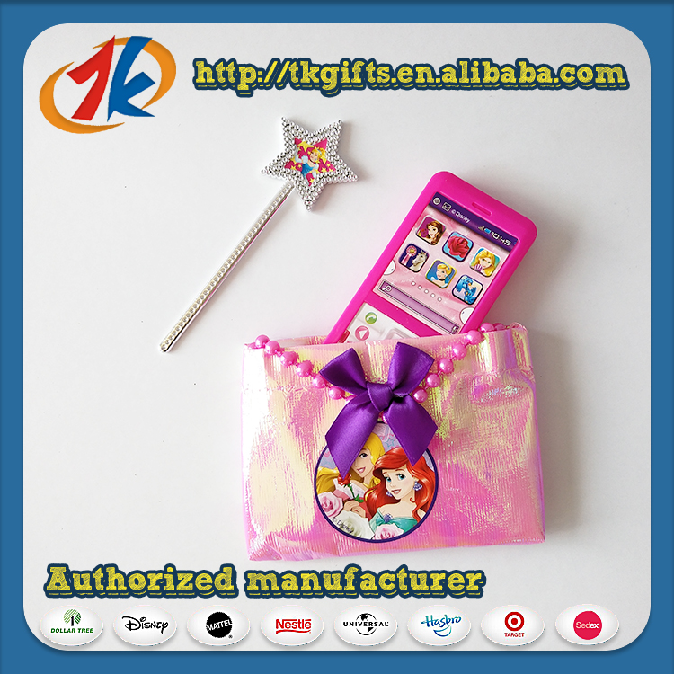 Plastic Phone Toy With Bag and Magic Wand Toy
