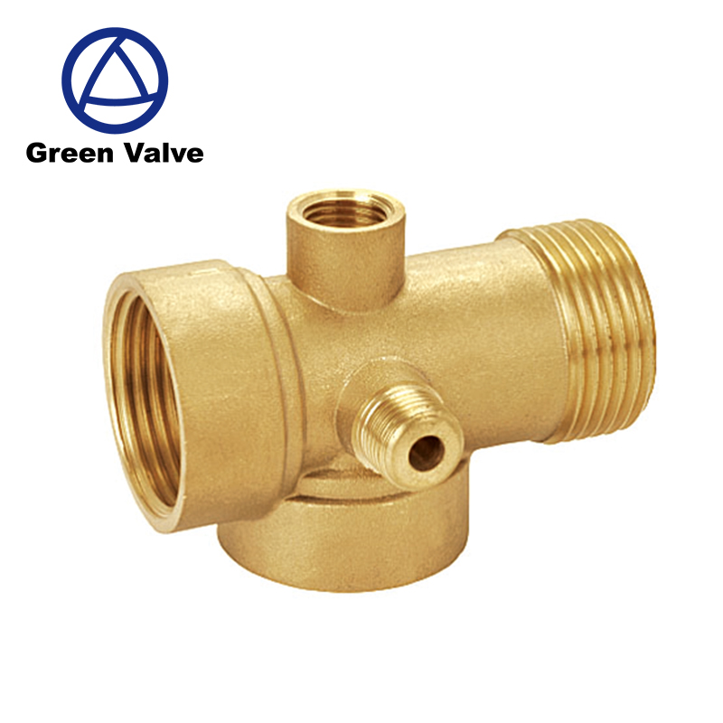 Green Guten-top factory price CW617n brass pex connect <strong>fittings</strong> of rehau style for pex pipe