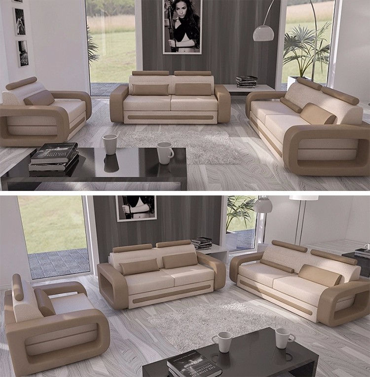 Simple Design European Style Modern Sectional Sofa