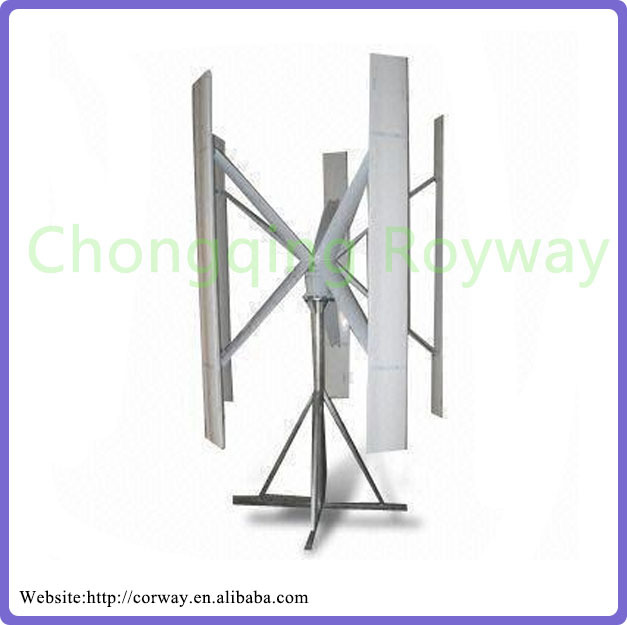 Vertical Axis Wind power Turbine 1kw vertical axis residential wind turbines