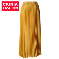 9007# Cheap price china wholesale clothing dubai abaya new design ladies & women bodycon skirts with pleated fabric
