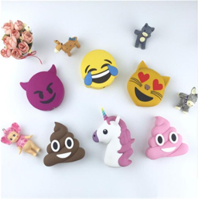 Emoji Banque De Puissance Licorne Dessin Animé Mignon Caca Puissance Banque 2600mah Buy Banque De Puissance Emojidessin Animé Licornebanque De
