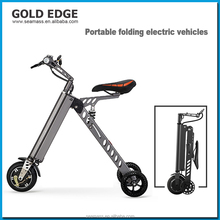 2017 New electronic two wheel folding electric scooter smart bike