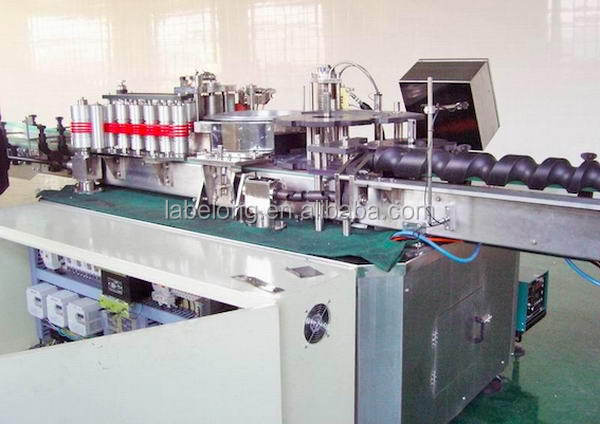High quality high speed high speed label pasting machine