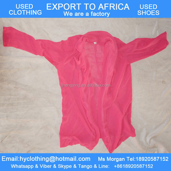 fashion long sleeve all kinds of used clothing for Africa