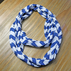 Custom Print Free Pattern Polyester Cotton Circle Infinity Scarf