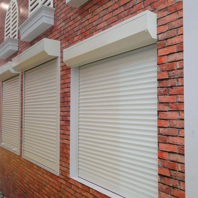 outside window security shutters european rolling shutter windows