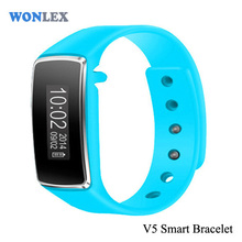 High Quality Smart Healthy Bracelet Bluetooth V4.0 Wristband With Pedometer / Sleep Monitoring /Remote Capture For Android / IOS