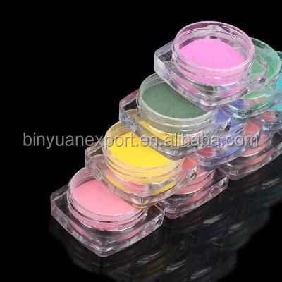 BIN color changing pigment with Heat Sensitive Color Change nail powder