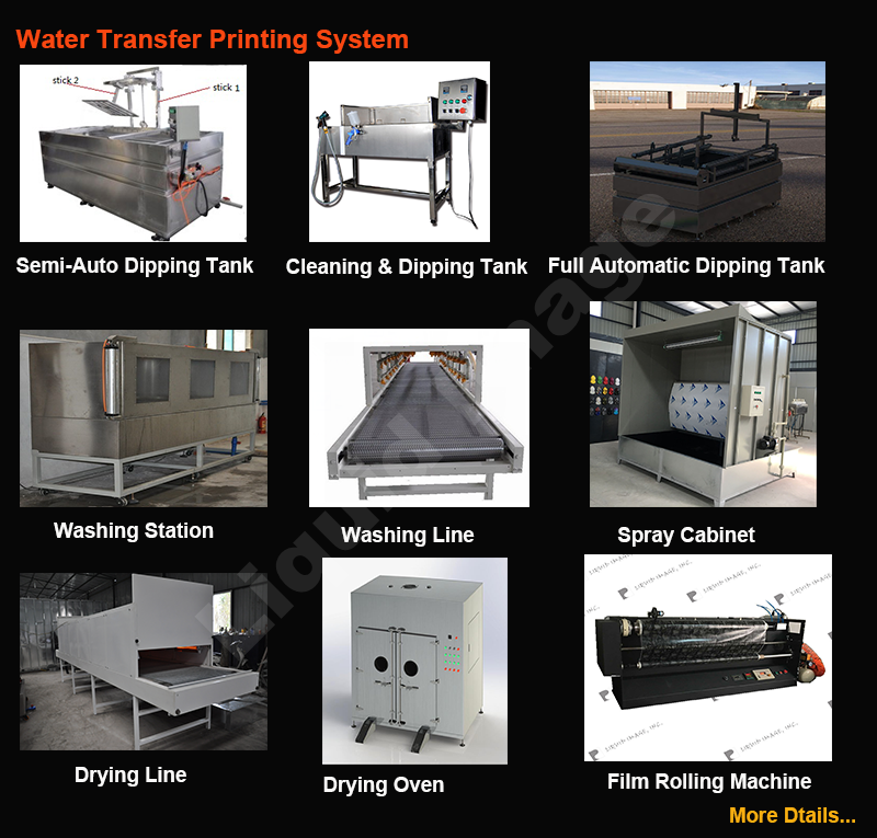 LYH-WTPM062-1 New Starter kit Water transfer printing equipment /hydrographic machine /hydro dipping tank of DIP & WASH