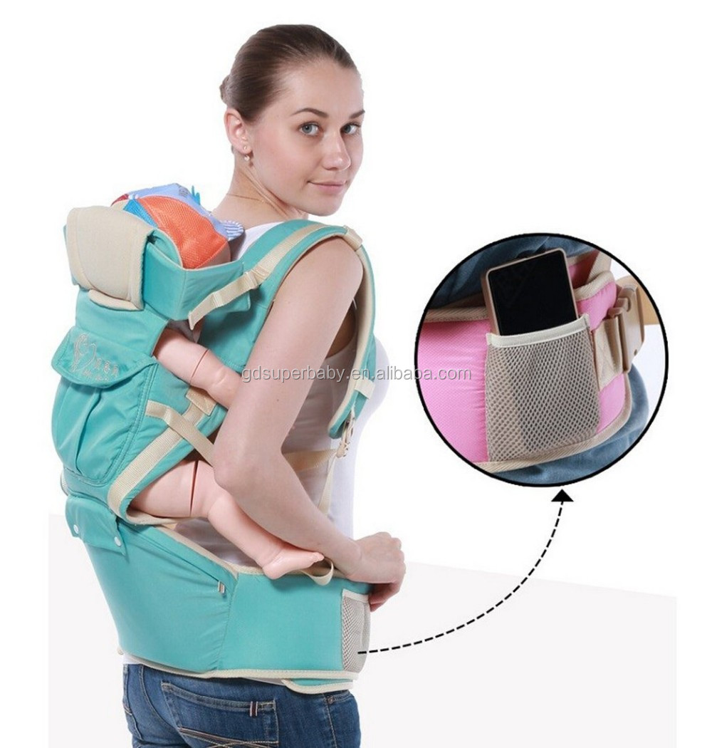 cc60ce25c70 Multifunction 10 in1 Hip Seat baby carrie Outdoor Kangaroo Baby Carrier  Sling Backpack