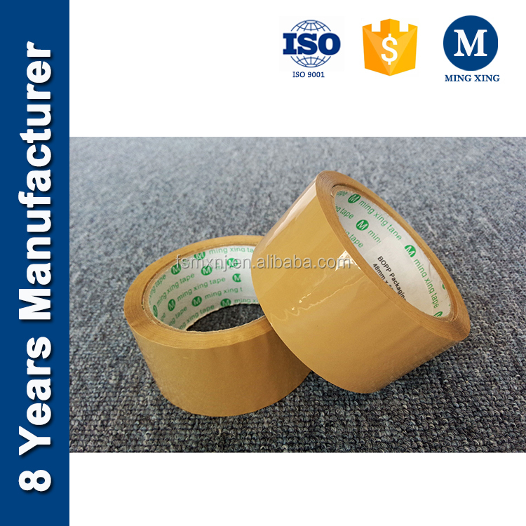 Ming Xing tape BOPP Acrylic self adhesive Brown packing tape