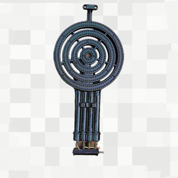 Tekanan Tinggi Por Dapur Besi Cor Cincin Gas Burner