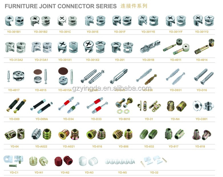 Hot Sale C Iron Plastic Furniture Cabinet Dowel/ Dowel Rods For ...