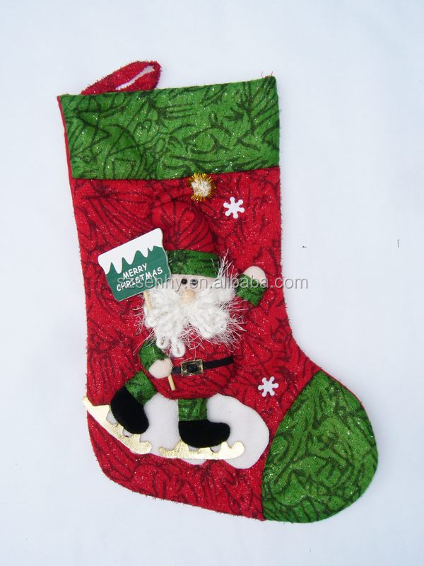 Plain Christmas Stocking Knitting Pattern : Lovely High Quality Plain Knit Christmas Stocking - Buy ...