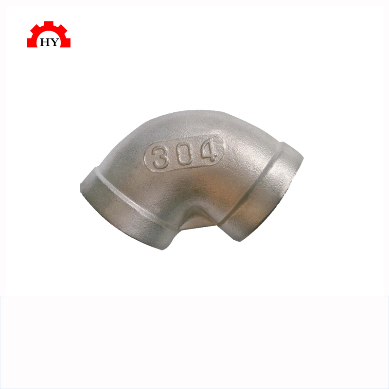 Hot sale swagelok ss304 pipe fitting 90 degree female reducing elbow